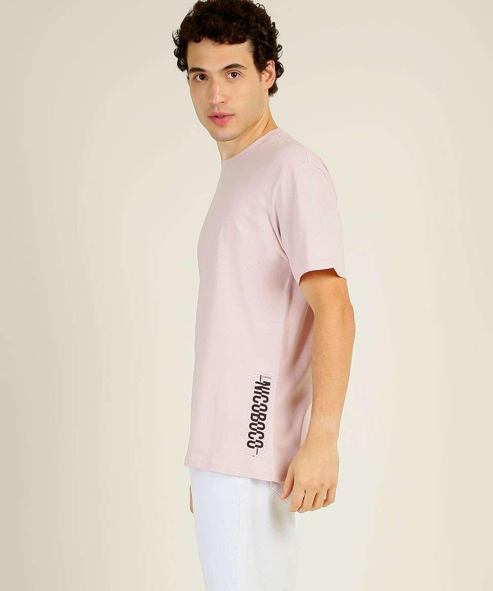 Camiseta Masculina Estampada Manga Curta Nicoboco