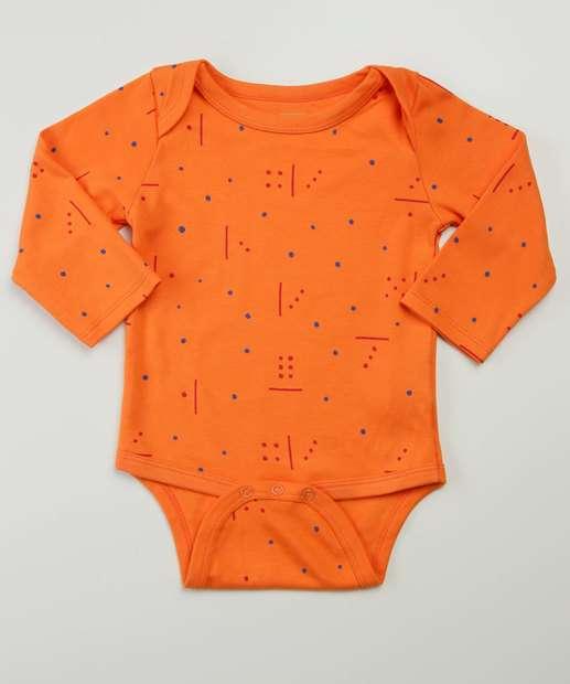 Image_Body Infantil Bebê Estampado Tam 9 a 24 Meses