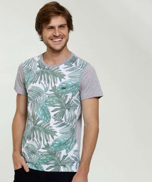 Image_Camiseta Masculina Tropical Manga Curta Rock & Soda