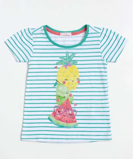 Image_Blusa Infantil Listrada Estampa Frutas Manga Curta Marisa