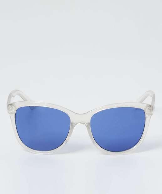 Image_Óculos de Sol Feminino Gateado Transparente Marisa