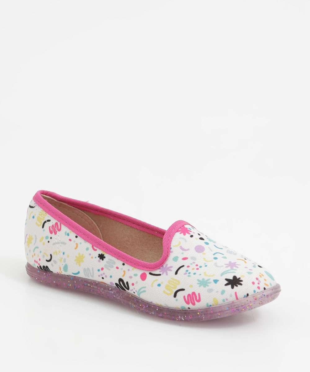 Sapatilha Infantil Glitter Molekinha