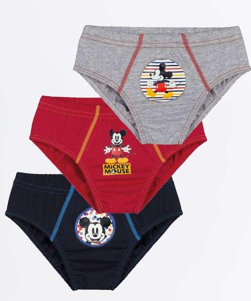 Image_Kit 3 Cuecas Infantil Estampa Mickey Lupo