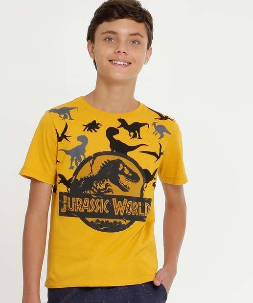 Image_Camiseta Juvenil Estampa Jurassic World Universal