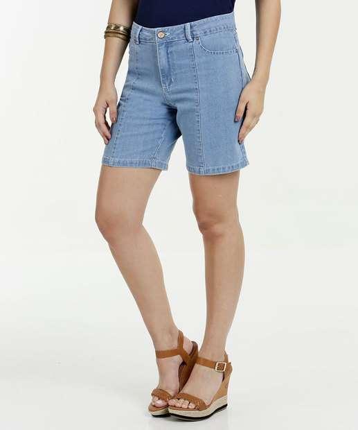 Image_Bermuda Feminina Jeans Cintura Alta Gups
