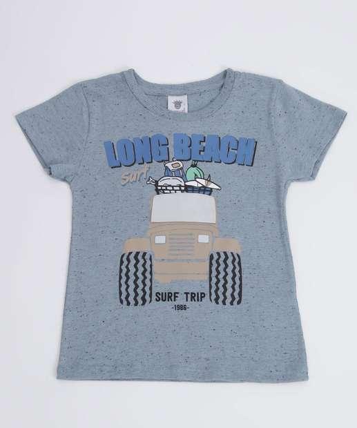 Image_Camiseta Infantil Botonê Estampada Manga Curta