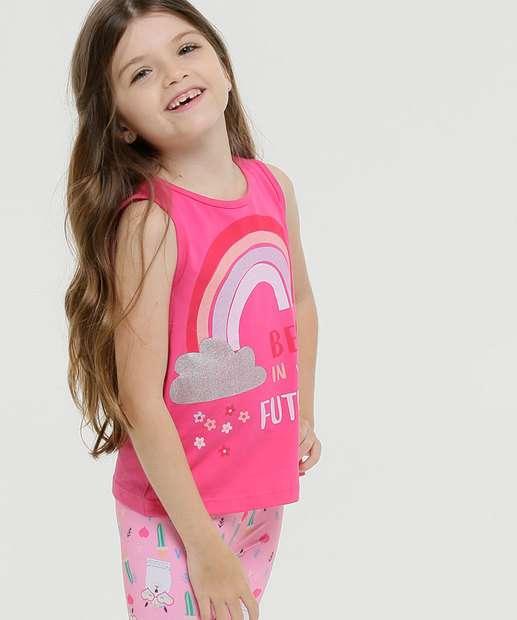 Image_Regata Infantil Estampa Arco-Íris Tam 4 a 10