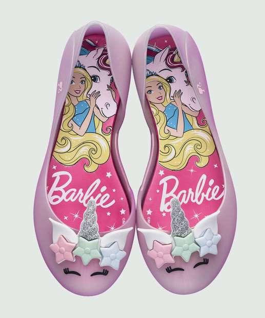 Image_Sapatilha Infantil Barbie Unicórnio Grendene Kids 21930