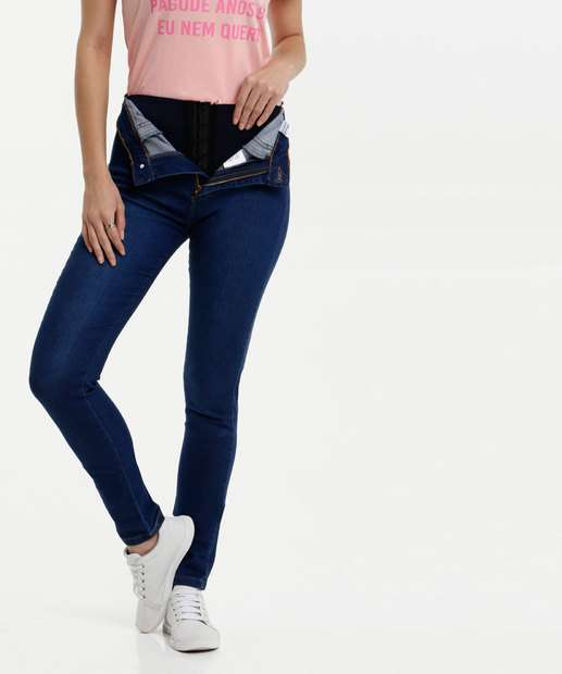 Image_Calça Jeans Skinny Lipo Modeladora Feminina Sawary