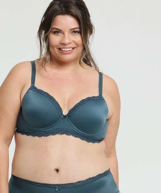 Image_Sutiã Feminino Com Base Jacquard Bolinhas Plus Size Marisa