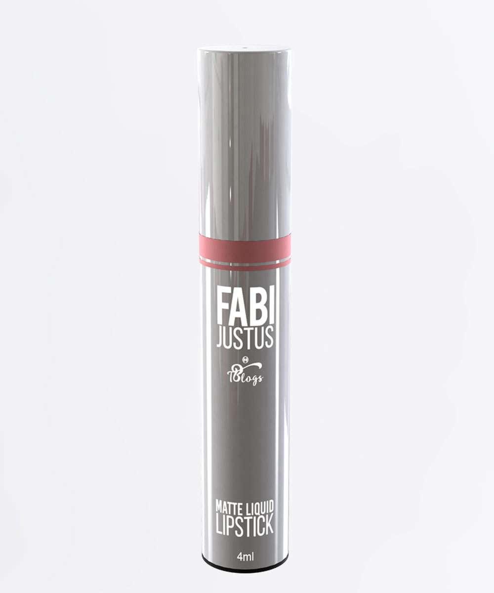 Batom Líquido Lipstick Vintage Matte - Fabi Justus Tblogs 4ml