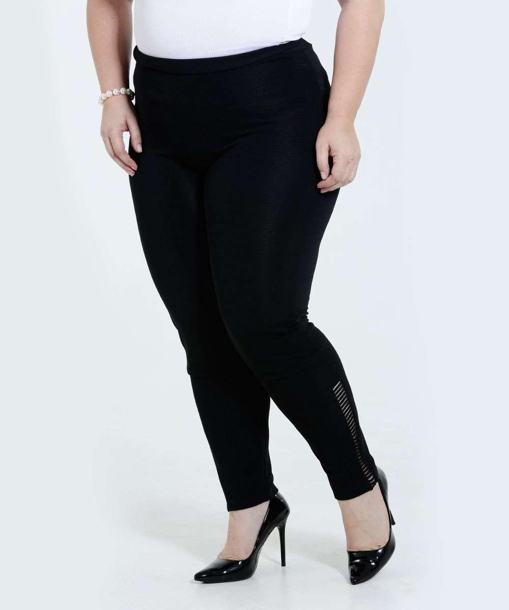 1d2f82a63f0 Calça Feminina Legging Plus Size Marisa