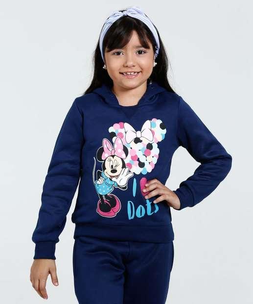 Image_Blusa Infantil Moletom Minnie Disney