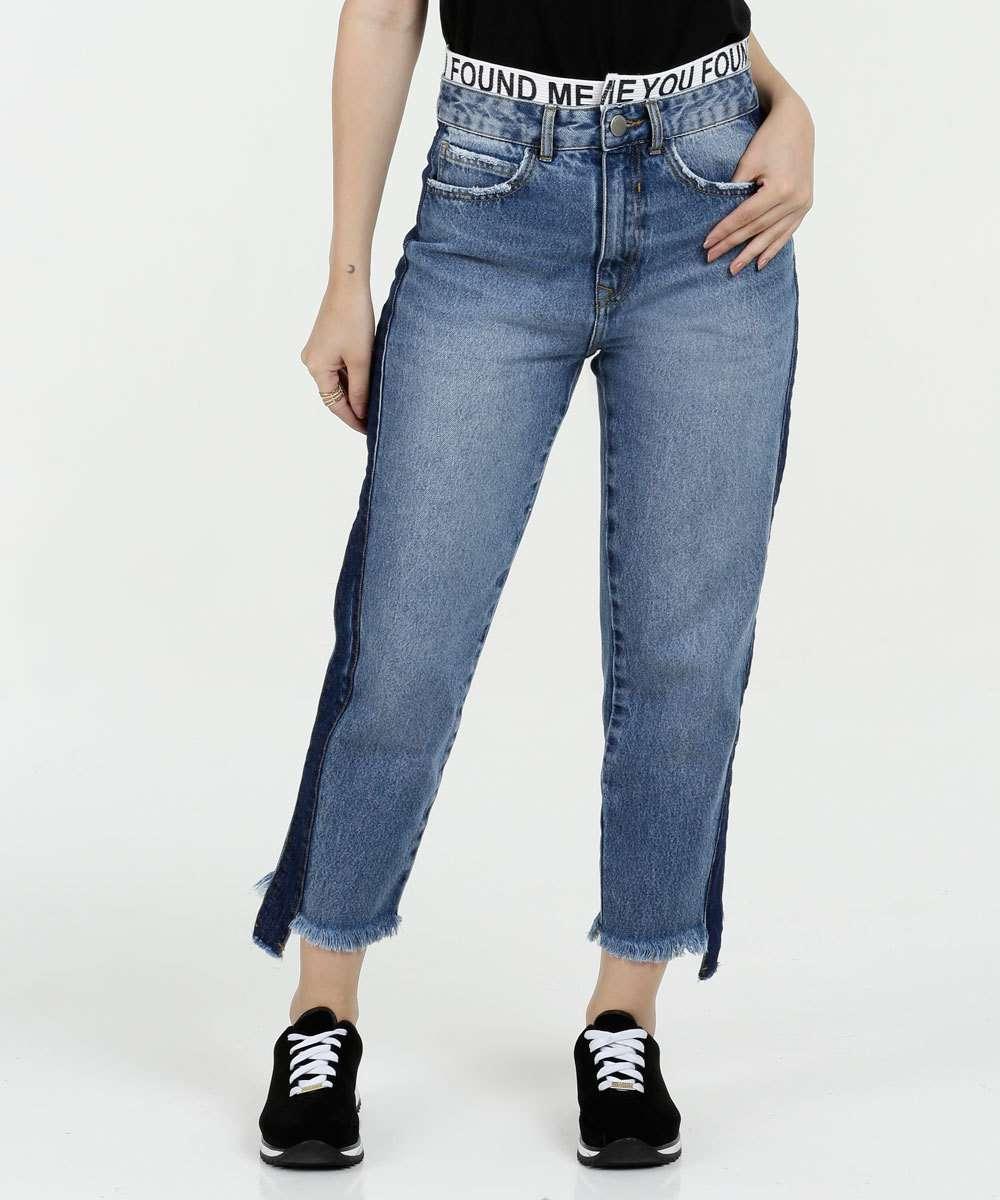 Calça Feminina Jeans Boyfriend Marisa