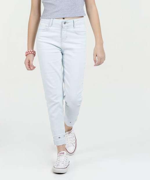 Image_Calça Juvenil Jeans Delavê Marisa