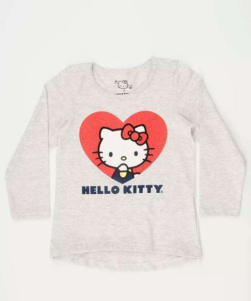 Image_Blusa Infantil Estampa Hello Kitty Sanrio