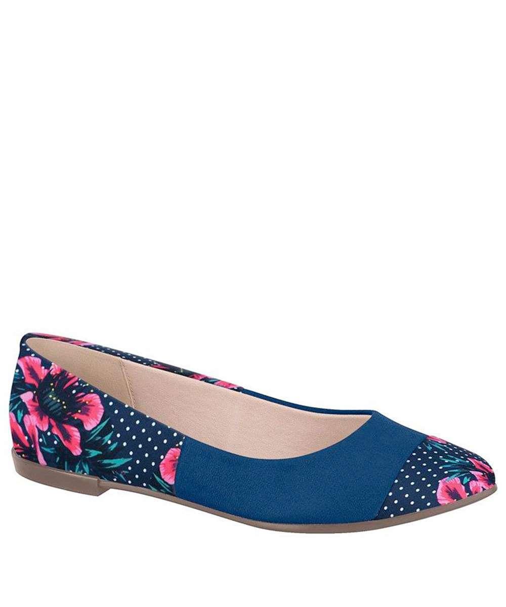 063e004fec Sapatilha Feminina Estampa Floral Moleca 5301234
