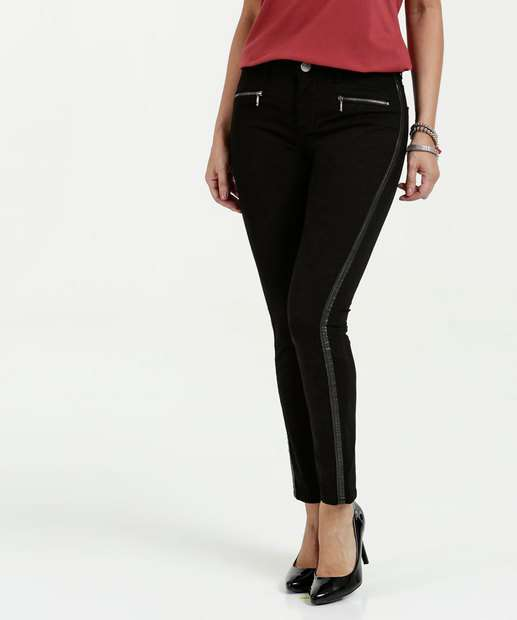 Image_Calça Feminina Jeans Skinny Cintura Média Marisa