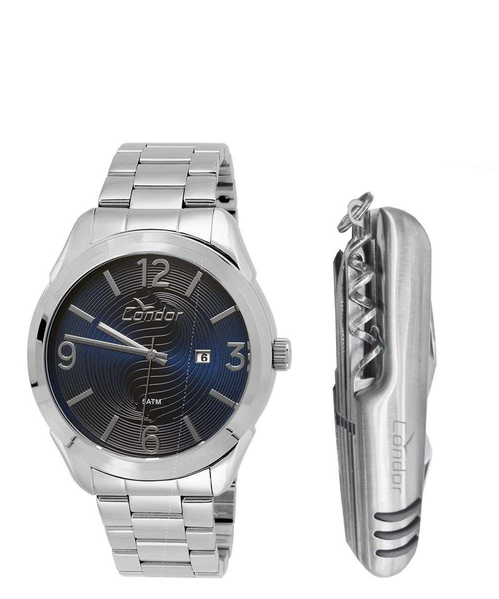 6ec00f831 Kit Relógio Masculino Condor CO2115WI3A