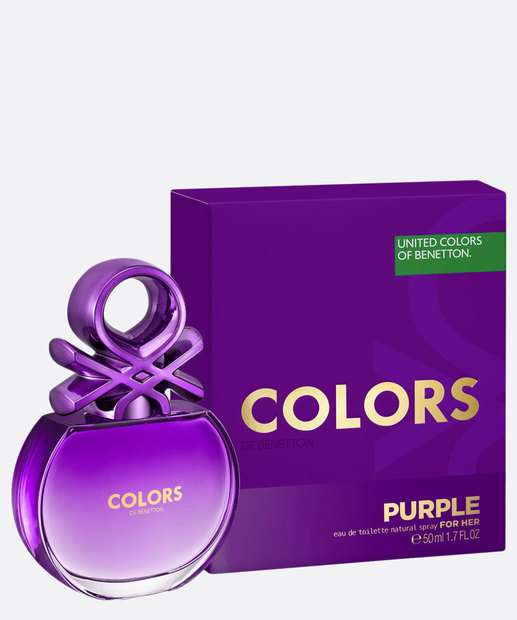 Image_Perfume Feminino Colors de Benetton Purple - Eau de Toilette 50ml