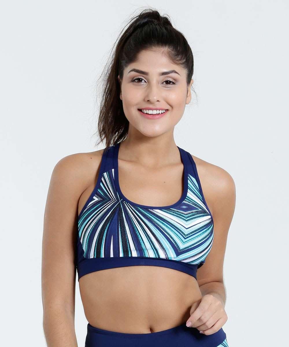 5391fba511 Menor preço em Top Feminino Nadador Fitness Active Marisa