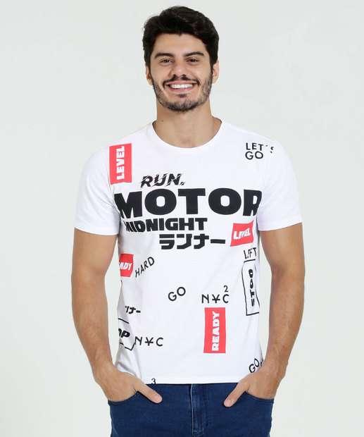 Image_Camiseta Masculina Manga Curta Estampa Marisa