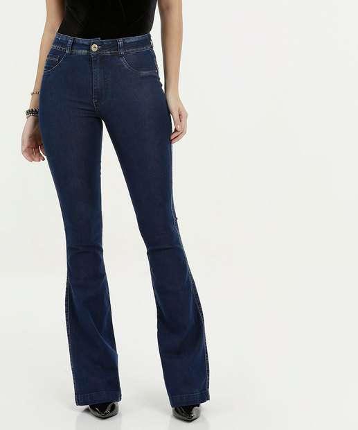 Image_Calça Feminina Jeans Flare Stretch Biotipo