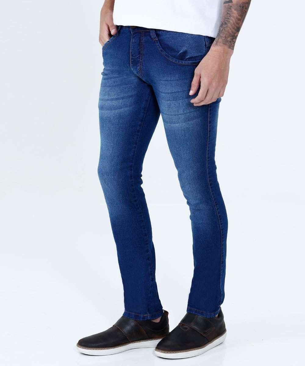 db0980256 Calça Masculina Jeans Skinny Stretch Biotipo