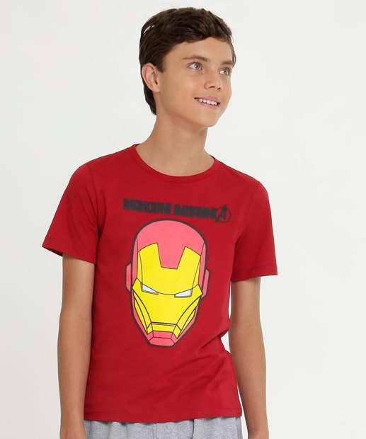 Image_Camiseta Juvenil Homem de Ferro Manga Curta Marvel
