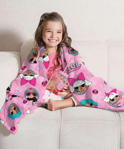 Image_Manta Infantil Fleece Estampa LOL Lepper
