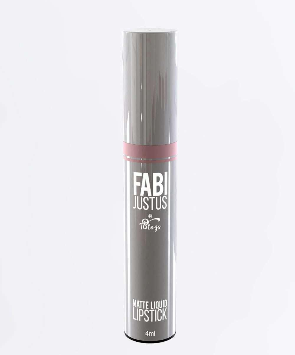 Batom Líquido Lipstick Chic Matte - Fabi Justus Tblogs 4ml
