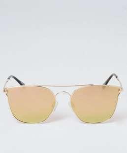 Óculos de Sol Feminino Gateado Espelhado Marisa