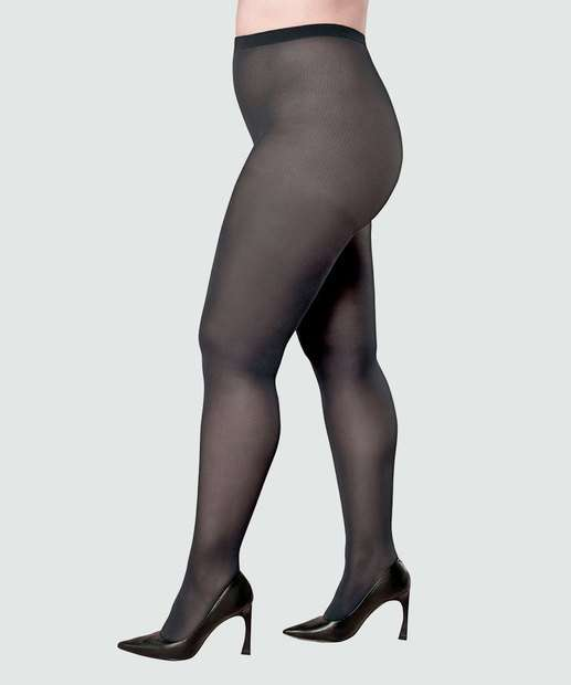 Image_Meia Calça Feminina Plus Size Opaca Fio 40 Lupo