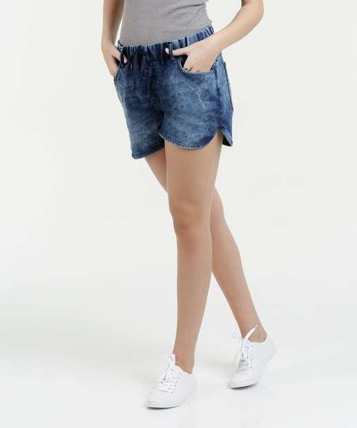 Image_Short Feminino Jeans Stretch Bolsos Marisa