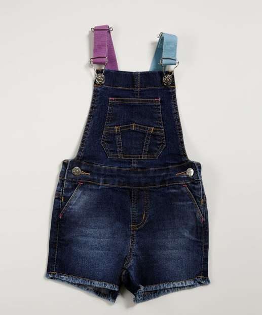 Image_Jardineira Infantil Jeans Bolsos Marisa
