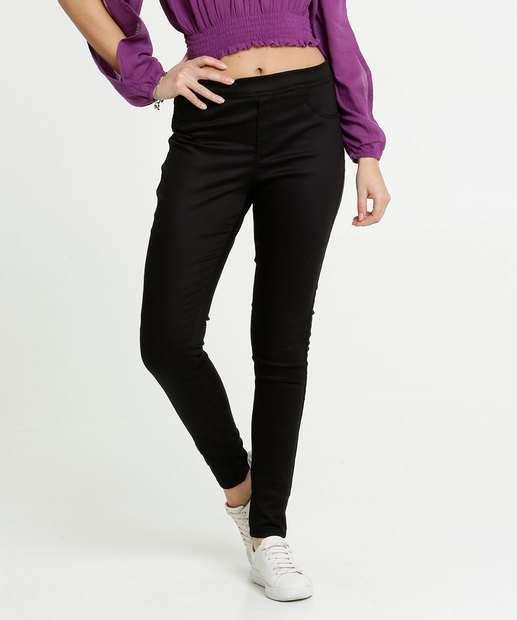 Image_Calça Feminina Legging Bengaline Bolsos Zune Jeans