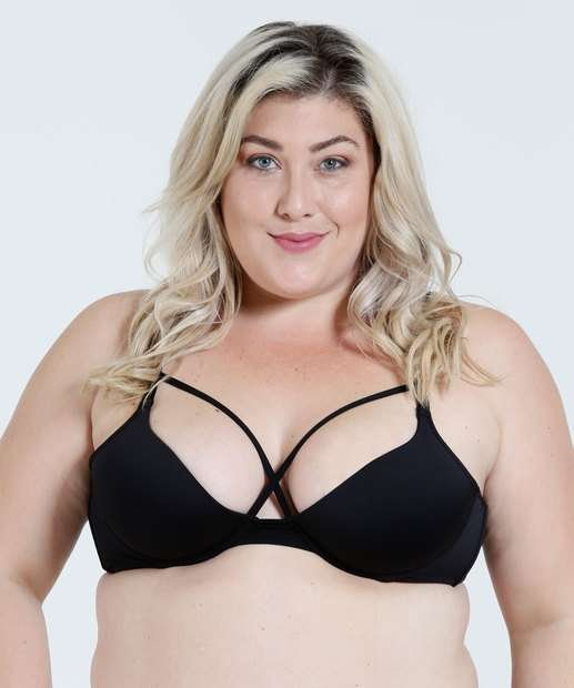 Image_Sutiã Feminino Push Up Strappy Plus Size Marisa