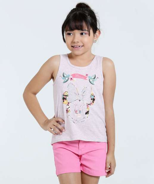 Image_Regata Infantil Minnie Strass Disney