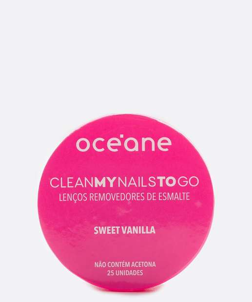Image_Lenço Removerdor de Esmalte Sweet Vanilla Océane