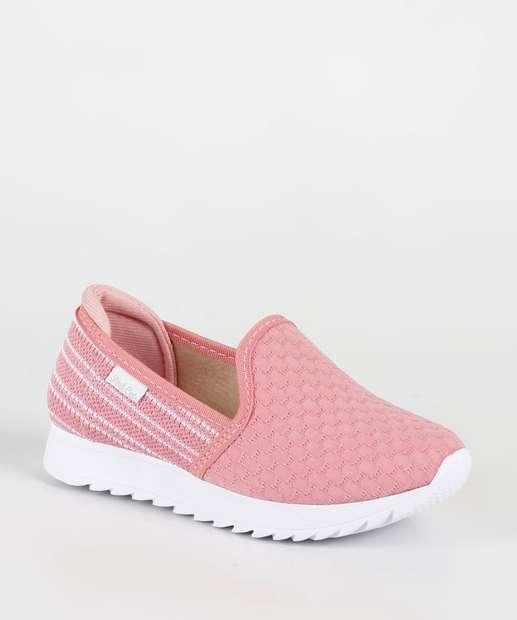 Image_Tênis Infantil Sliper Textura Tratorada Pink Cats