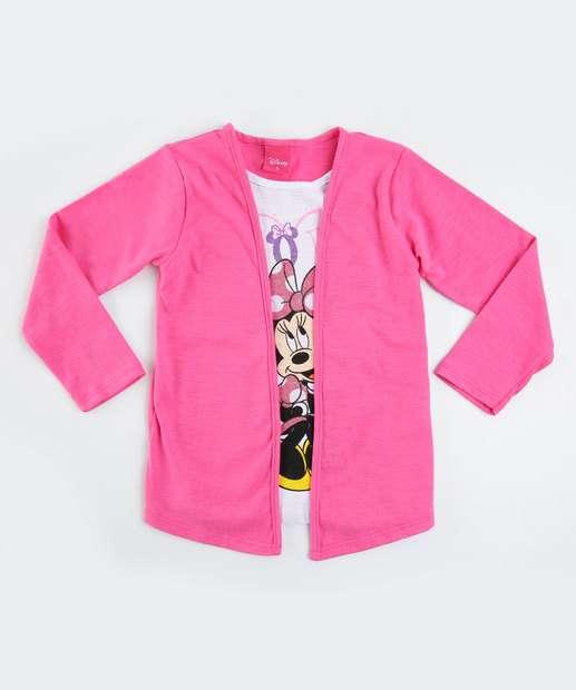 Image_Blusa Infantil Sobreposição Casaco Minnie Disney
