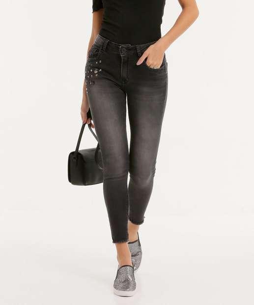 Image_Calça Cigarrete Feminina Chatons Zune Jeans