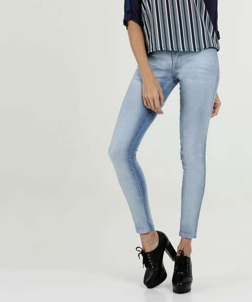 Image_Calça Feminina Jeans Hot Pant Stretch Biotipo