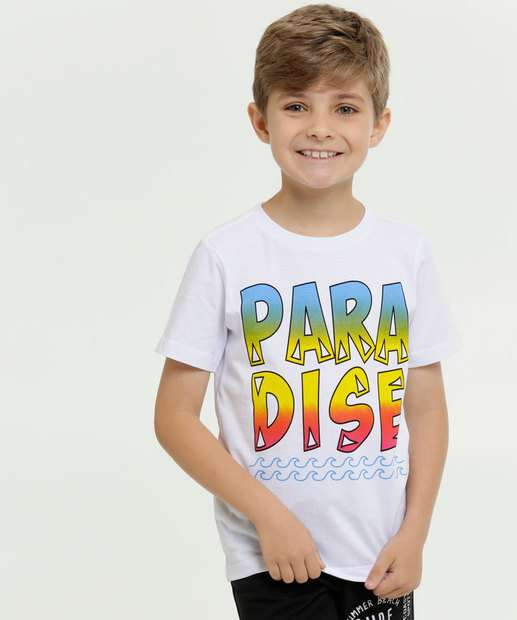 Image_Camiseta Infantil Estampa Frontal Manga Curta MR