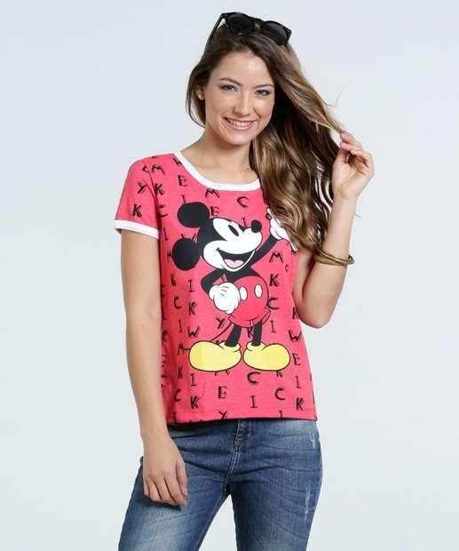 Image_Blusa Feminina Estampa Mickey Disney