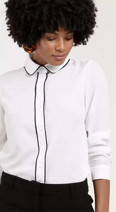 Camisa Branca para o Trabalho