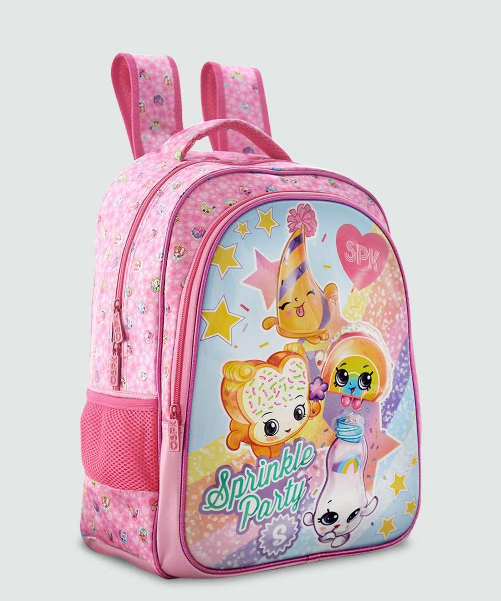 Mochila Escolar Infantil Estampa Shopkins Xeryus