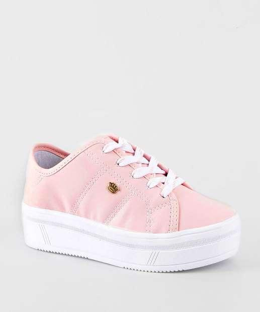 Image_Tênis Infantil Casual Pink Cats