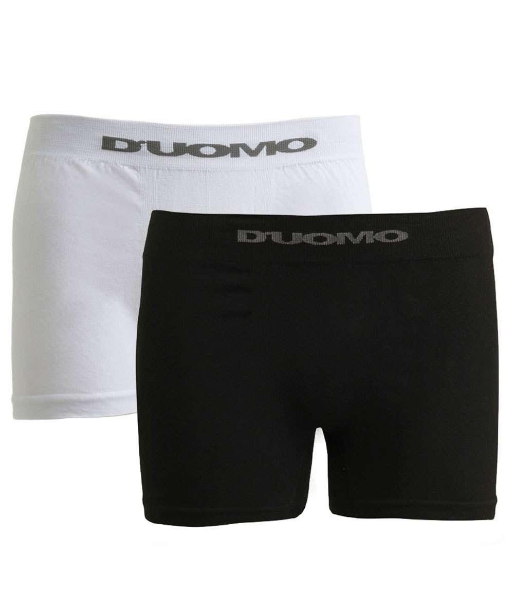 Kit 2 Boxer Masculina Sem Costura D'UOMO