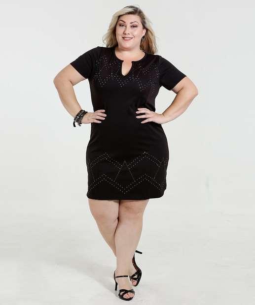 Image_Blusa Feminina Longline Strass Plus Size Marisa